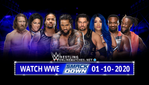 Watch WWE SmackDown Live 01-10-2020